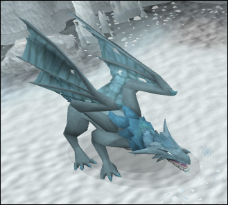 Combat Level 166 Frost Dragon Frost Dragon Runescape