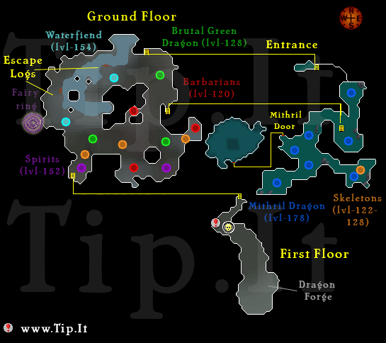 Ancient Cavern Dungeon Map - Pages :: Tip.It RuneScape Help :: The ...