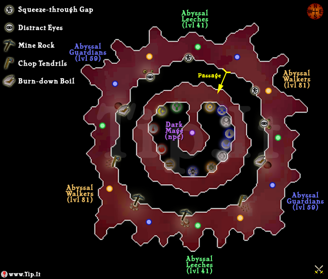 Guide to runecrafting through the Abyss - Skilling Guides - Skillers