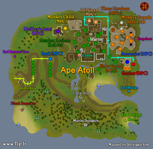 Osrs Ape Atoll Fairy Ring
