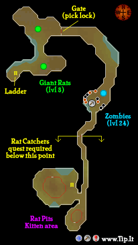 sewer gate ardougne sewer pages tipit runescape help the original
