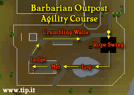 Barbarian Agility Course