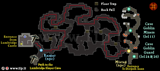 Dorgeshuun Mines - Pages :: Tip It RuneScape Help :: The