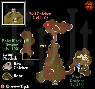 Evil Chicken Lair - Pages :: Tip It RuneScape Help :: The Original