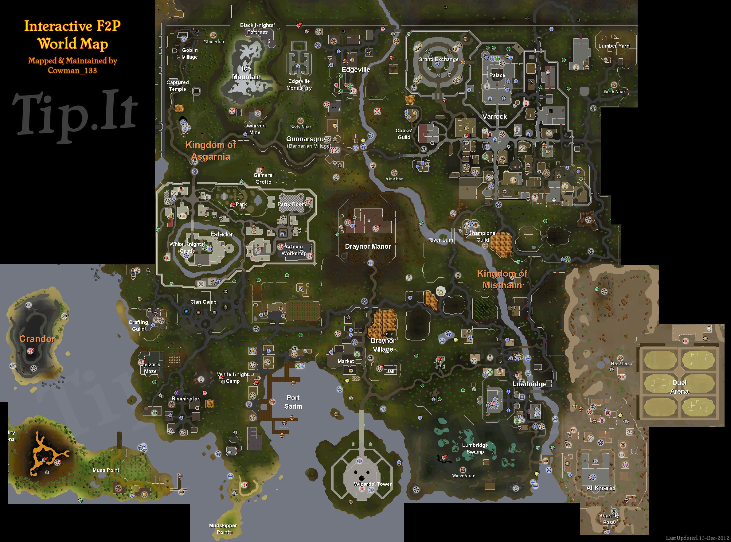 Fp World Map