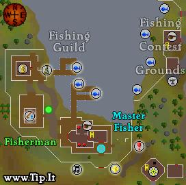 old school runescape fishing guide