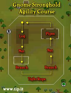 Gnome Agility Course