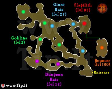 goblin masmorra mapa