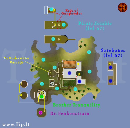 Harmony Island Map - Pages :: Tip It RuneScape Help :: The Original