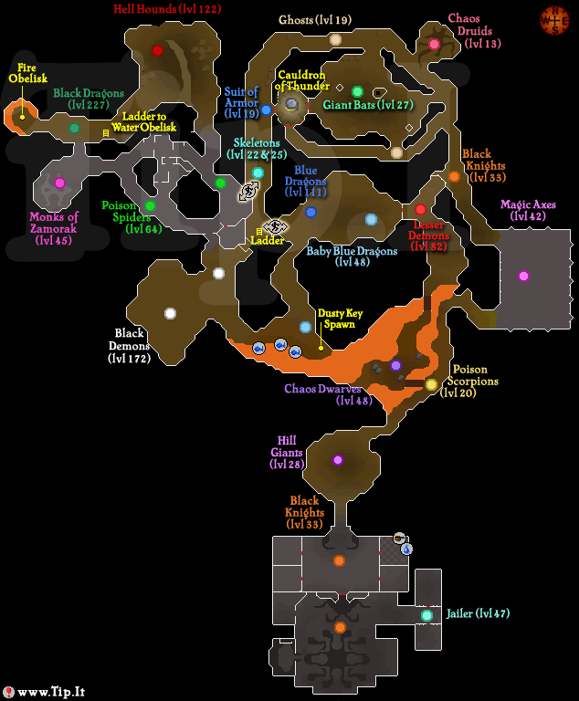 weird things on the members dungeon map help and advice forum