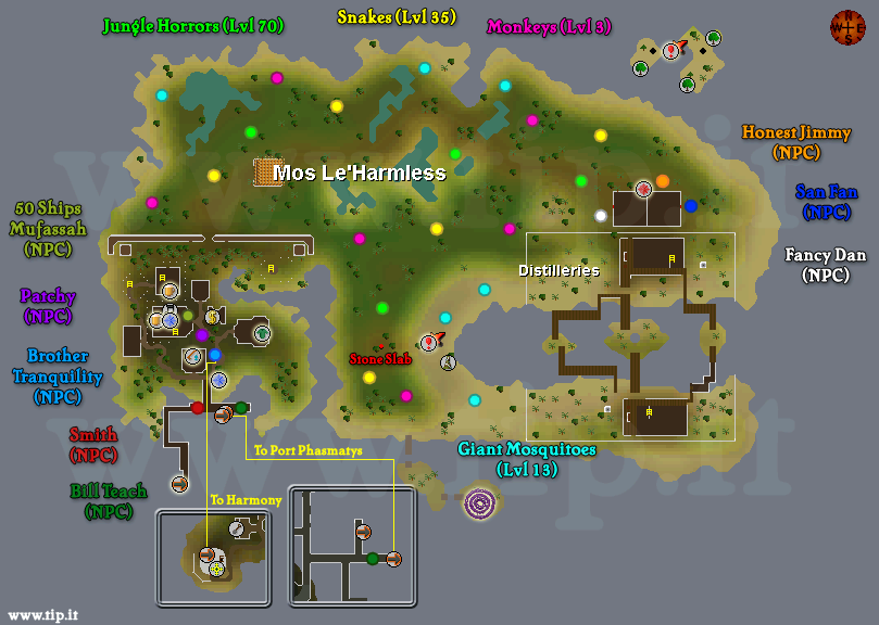 Mos Leharmless - Pages :: Tip.It RuneScape Help :: The ...