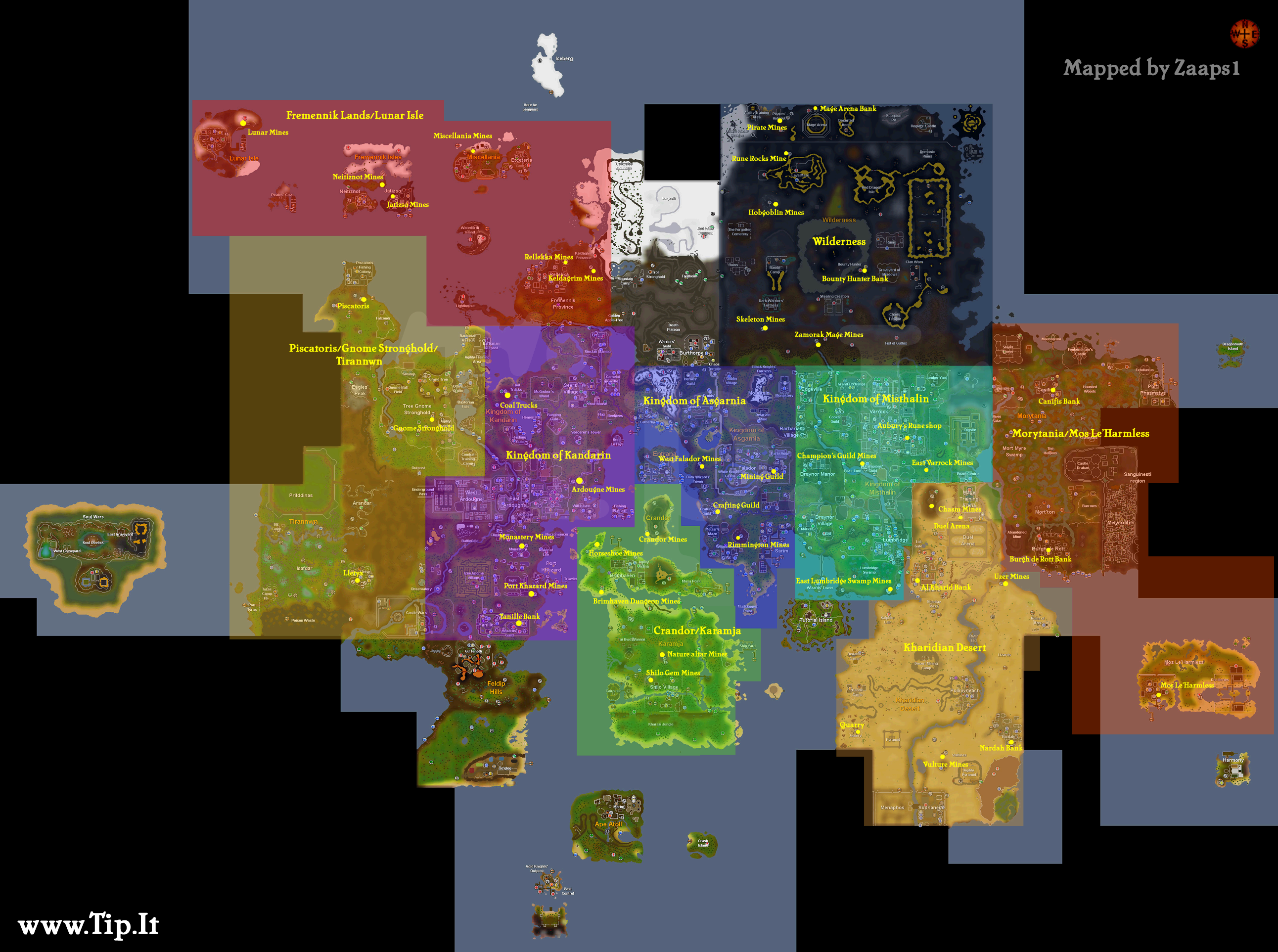 2007 runescape world map Quotes