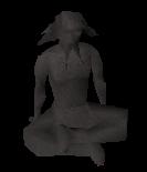 Estátua deuses Guthix