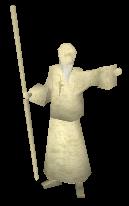 Estátua deuses Saradomin