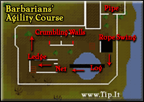 Barbarians' Agility Course