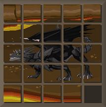 Quebra-Cabeça do Dragão Negro