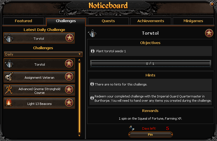 Daily Challenges Pages Tipit Runescape Help The Original