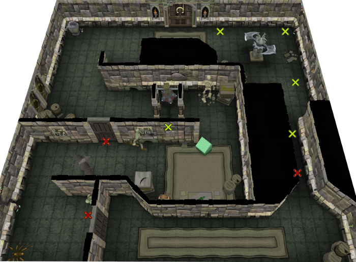 bookcase room dungeoneering 1