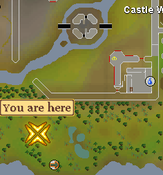 Fairy Ring South Of Castle Wars