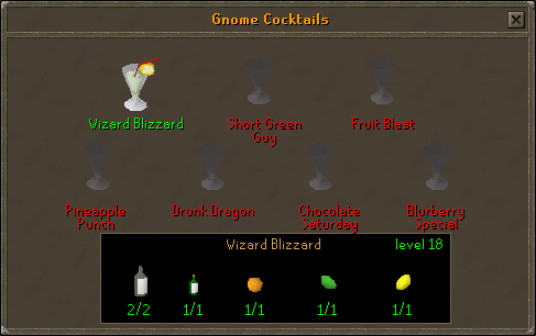 Best Food For Your Level Osrs