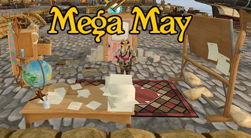 Mega May Banner