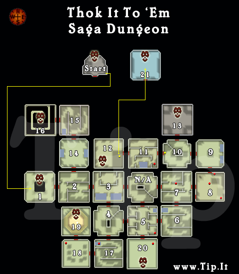 Thok It To 'Em Saga - Dungeon