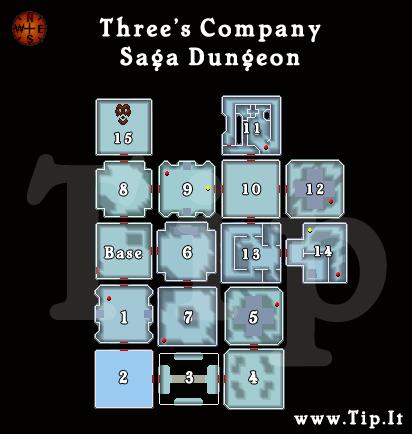 Saga de três Companhia - Dungeon