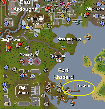 Trawler pages tip runescape help the original runescape trawler mapard publicscrutiny Image collections