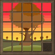 Quebra-cabeça árvore