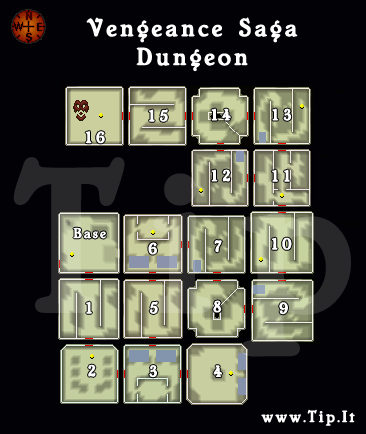 Saga Vengeance - Dungeon