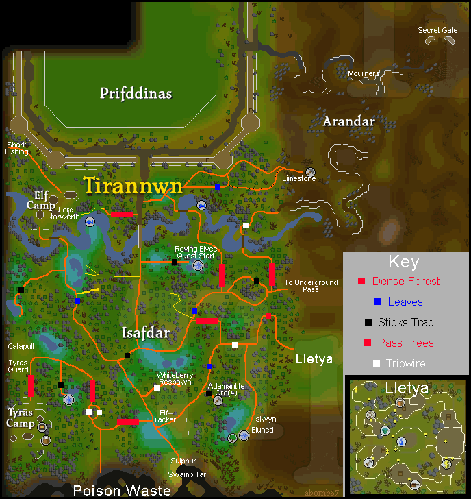 Treasure Trails Coords Pages Tipit Runescape Help The