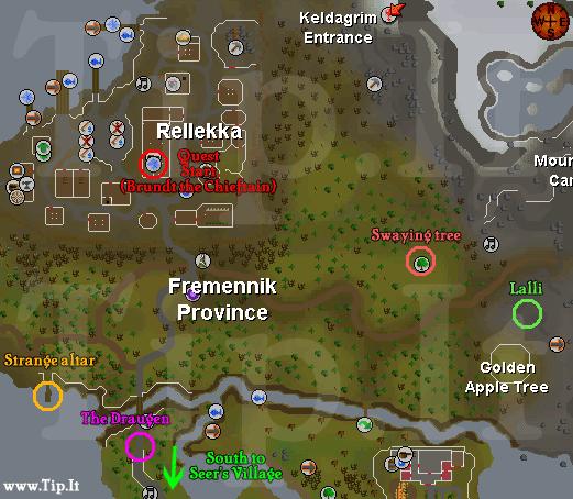 Fremennik Trials, The - Quests :: Tip It RuneScape Help